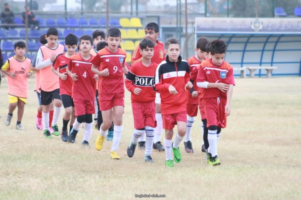 بالصور الحصة التدريبية لبراعم امانة بغداد