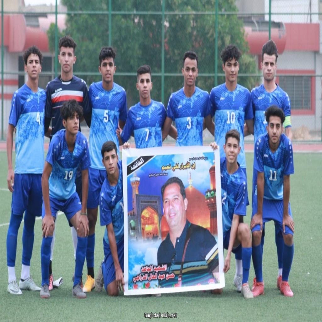 شباب أمانة بغداد يتغلب على شباب الظفرة بهدفين مقابل هدف