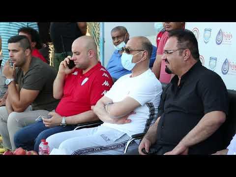 درجال يزور نادي امانة بغداد ويحضر مباراة الفريق الودية امام الديوانية استعدادا للدوري الممتاز