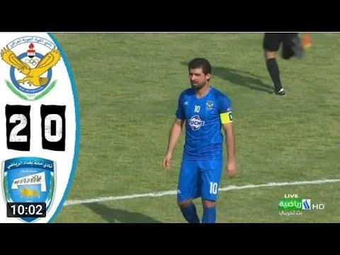 ملخص مباراة القوة الجوية وأمانة بغداد | الدوري العراقي الممتاز 2019/9/18